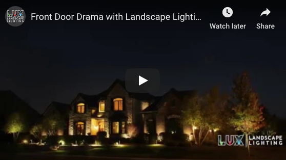 Front Door Drama with Landscape Lighting