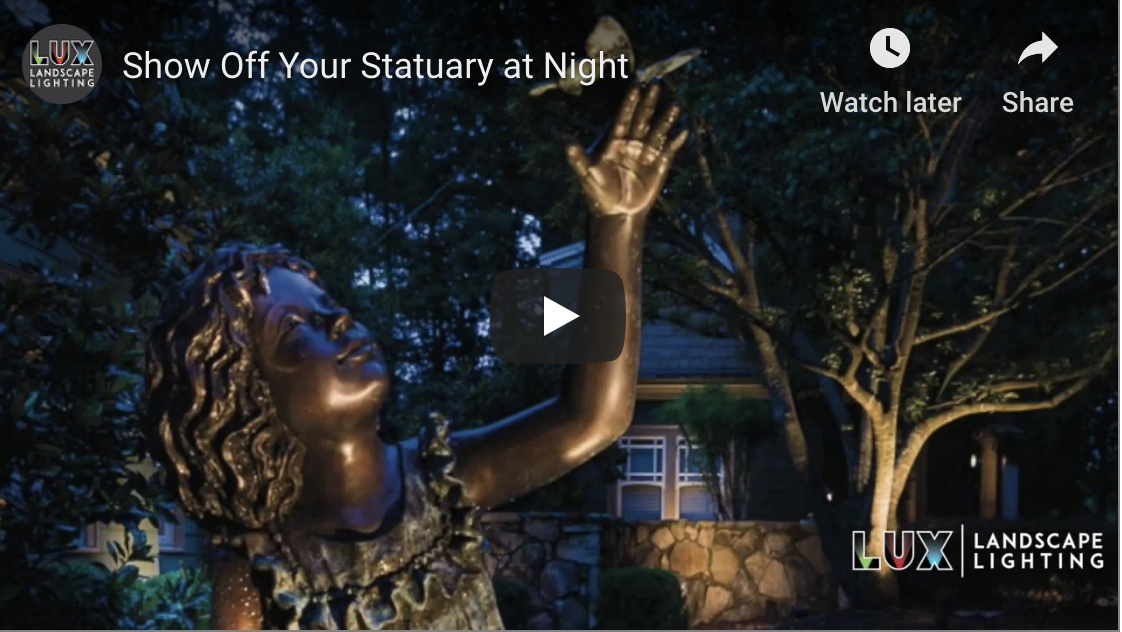 Show Off Your Statuary at Night