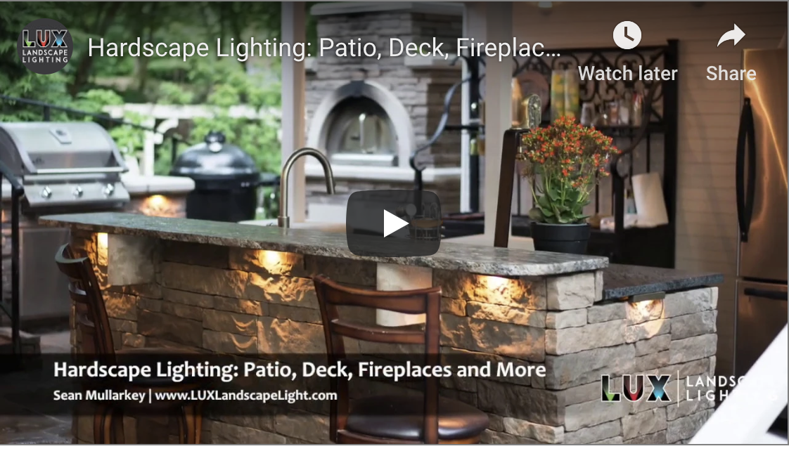 Hardscape Lighting: Patio, Deck, Fireplaces and More