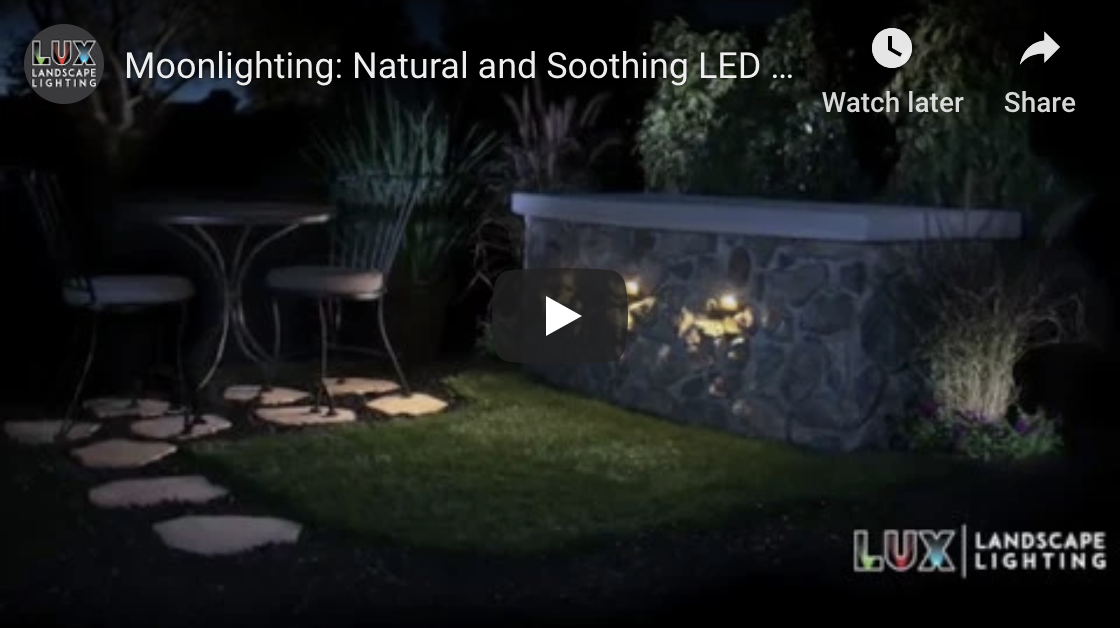 Moonlighting: Natural and Soothing LED Landscape Lighting