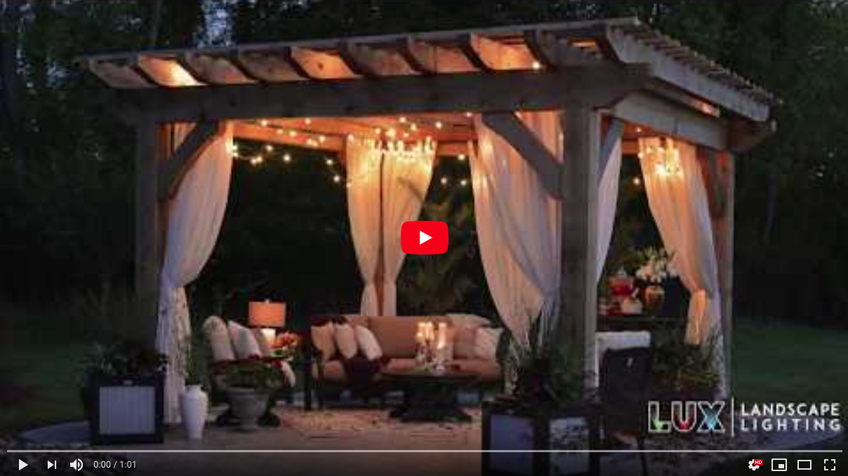 [VIDEO] Bring the Party Outside after Dark with Bistro Lighting