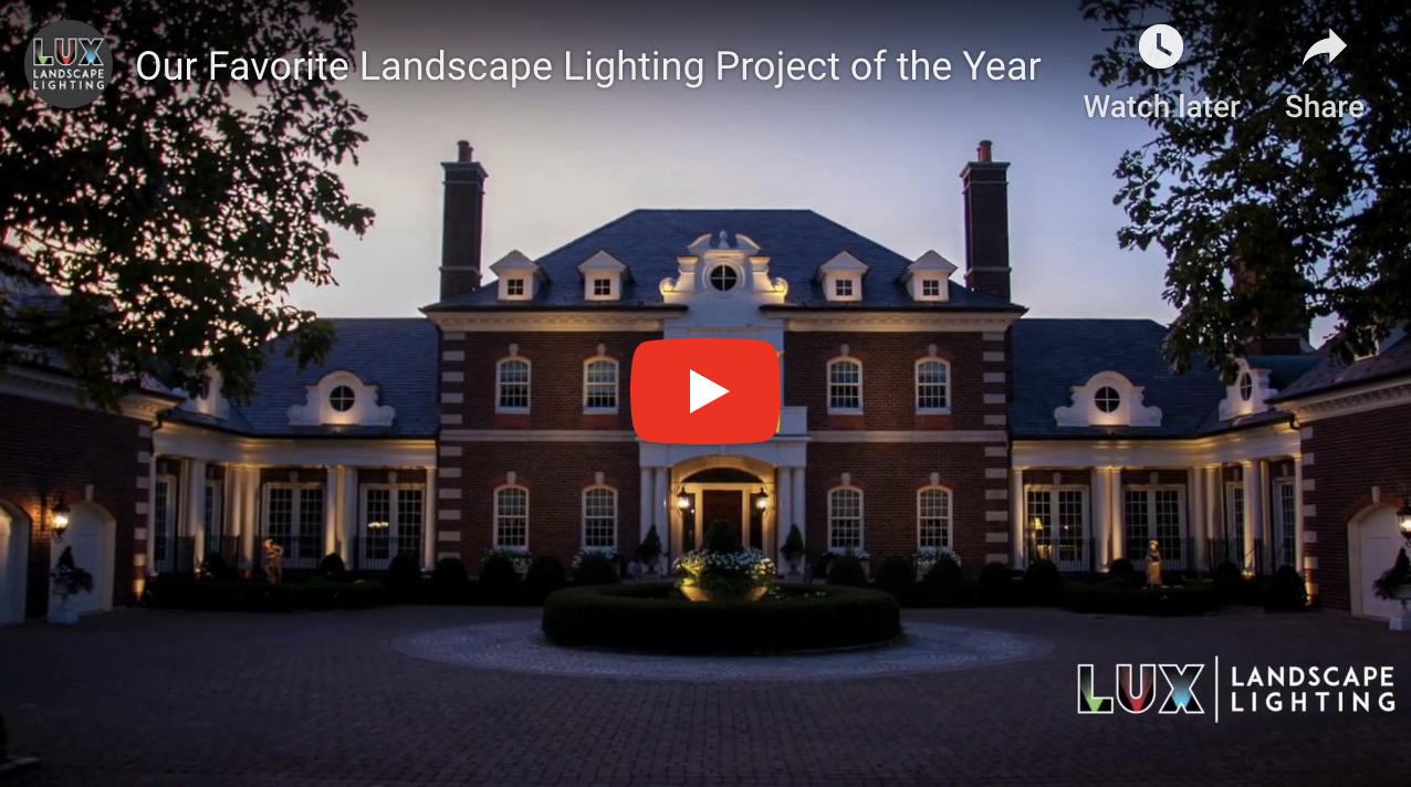 Our Favorite Landscape Lighting Project of the Year