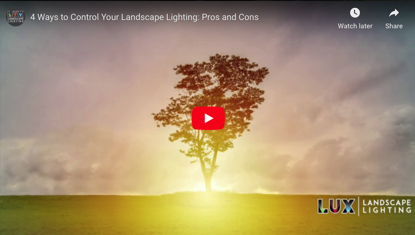 4 Ways to Control Your Landscape Lighting: Pros and Cons