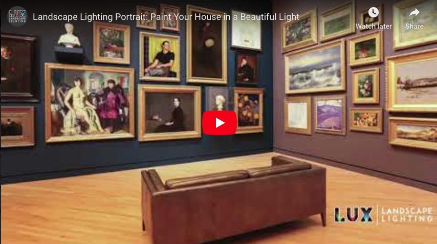 Landscape Lighting Portrait: Paint Your House in a Beautiful Light