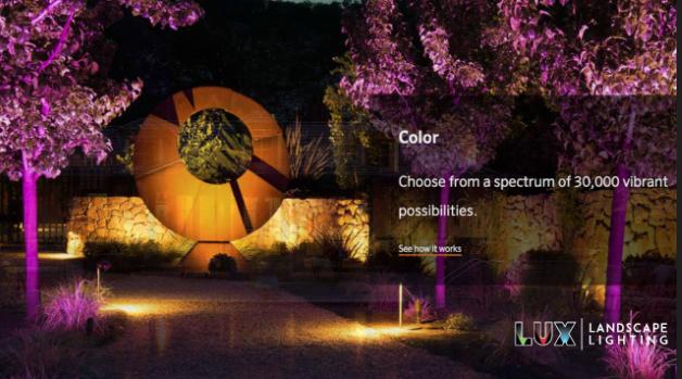 Smart Landscape Lighting with LUXOR