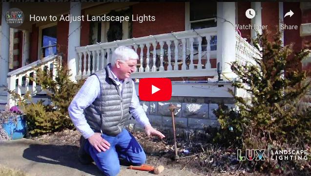 How to Adjust Landscape Lights