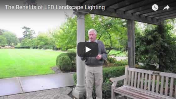 The Benefits of LED Landscape Lighting