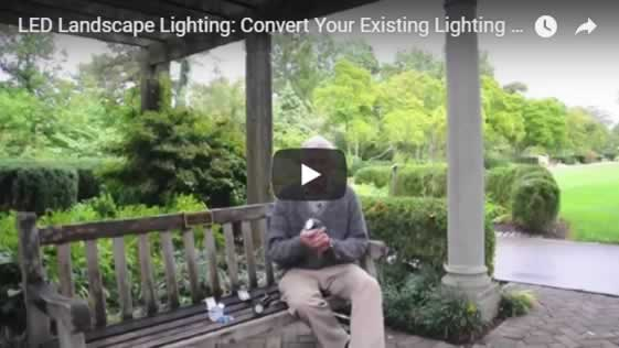 Landscape Lighting: Convert Your Existing Lighting System